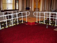 Roll-A-Ramp Buckingham Palace