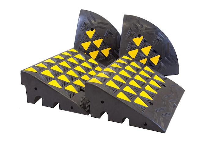 Rubber Kerb Ramps Kits