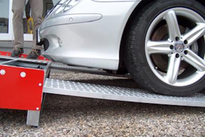 DRS40 Serie Auffahrrampen PKW
