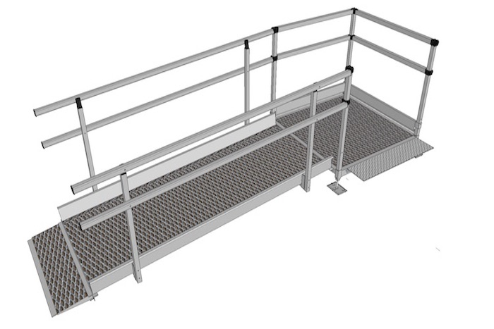 1100mm Wide Modular Ramp Kits