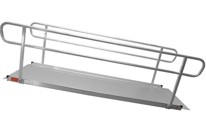 Portable Wheelchair Ramps with or no Hand Rails