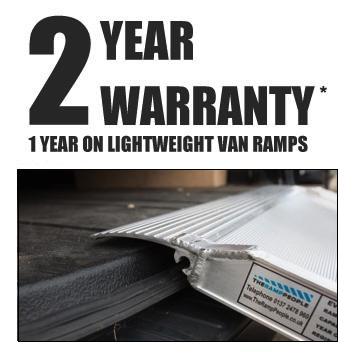 2 year warranty on van ramps