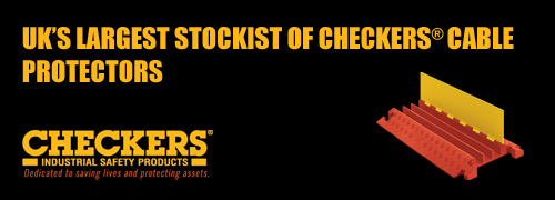 shop checkers industrial cable protectors