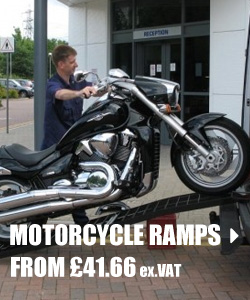 motorcycle and bike ramps